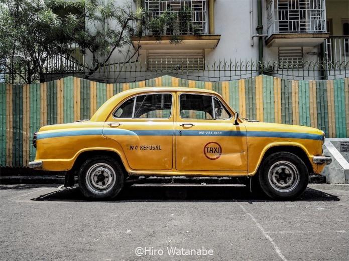 コルカタタクシーの画像