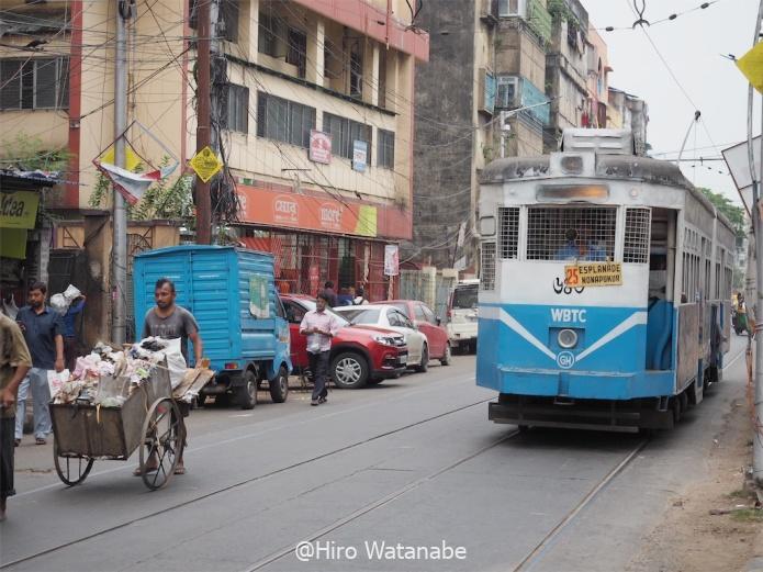 コルカタ街の画像